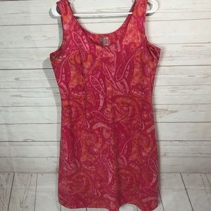 Athleta | Garden Isle Dress Size Xl in pink